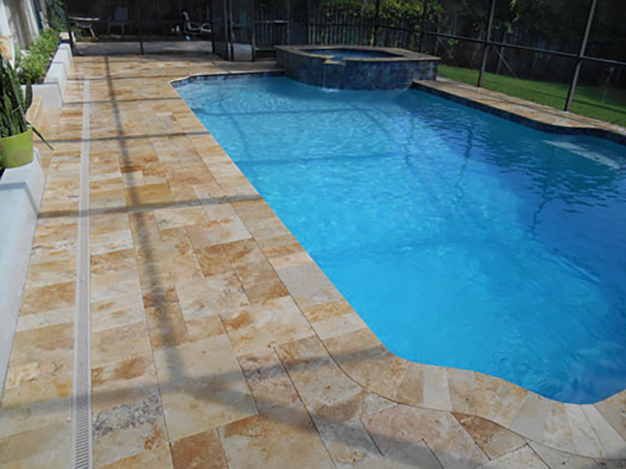 Travertine Deck7